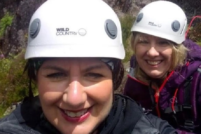 Chesterfield law firm 'go wild' in the lakes to raise £1,000 for charity